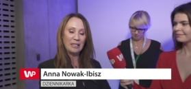 Anna Nowak-Ibisz podnieca się urządzeniem do mierzenia stopy