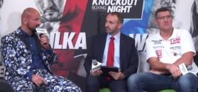 Mariusz Wach wręczył prezent Arturowi Szpilce przed walką w Gliwicach