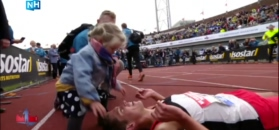 #dziejesiewsporcie: wzruszająca scena na mecie maratonu