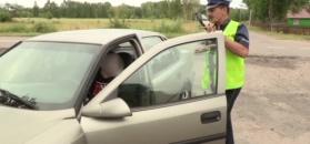 Kierowca jechał bez tablicy rejestracyjnej. Jednak zatrzymano go w innej sprawie
