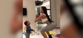 #dziejesiewsporcie: tak ćwiczy dziewczyna Ronaldo. Wygląda super