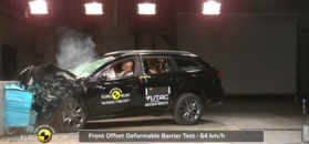 Mazda 6: test Euro NCAP