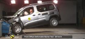 Pegueot Rifter: test Euro NCAP