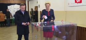 Prezydent Andrzej Duda zagłosował w wyborach
