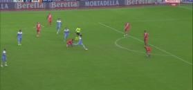 Lazio Rzym rozbiło drużynę Thiago Cionka. Świetny występ Immobile