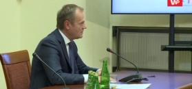 """Tusk przed komisją śledczą: KNF ostrzegł Polaków przed inwestowaniem w Amber Gold"""""""