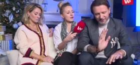 Majdan o ciąży Rozenek: