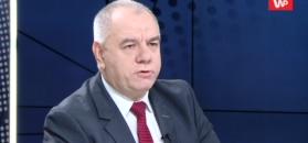 """""""Niech pan nie żartuje!"""". Jacek Sasin obruszony słowami nt. pomnika Lecha Kaczyńskiego"""
