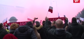 Mazurek Dąbrowskiego na Marszu Niepodległości