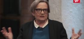 """Agnieszka Holland: """"Musimy wstać z kolan. Polska wyzdrowieje jak będzie świecka"""""""