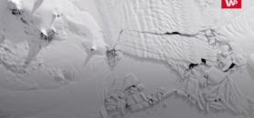 Wielka góra lodowa na Antarktydzie
