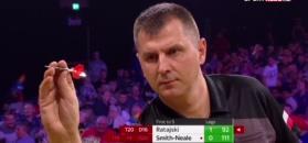 Krzysztof Ratajski w 1/8 finału Grand Slam of Darts