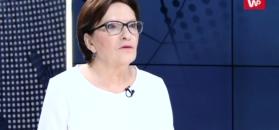 Ewa Kopacz tłumaczy słowa Tuska o