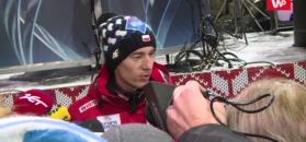 Kamil Stoch: Czwarte miejsce jest dobre. Po piątku nie wiedziałem, gdzie jestem