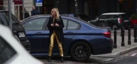 Olejnik zostawia BMW na zakazie parkowania