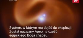 """""""Kosmiczny wąż"""" w Drodze Mlecznej"""