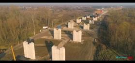 Tak powstaje Most Południowy w Warszawie