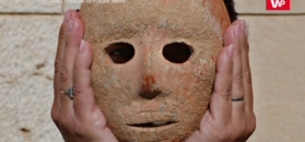 Tajemnicza maska. Służyła do pradawnych rytuałów