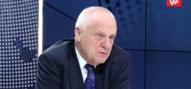 """Stefan Niesiołowski o partii Rydzyka. """"Szantaż"""""""