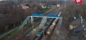 Pasażerowie PKP muszą łapać się za głowy. Dworzec-ruina w mieście Szydło