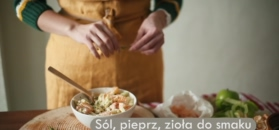 Noworoczna sałatka z krewetkami. Zaskakujące połączenie smaków
