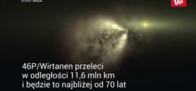 Świąteczna kometa. Najbliższe podejście od 70 lat