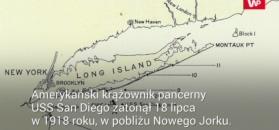 Zatonięcie USS San Diego. Zagadka rozwiązana po 100 latach