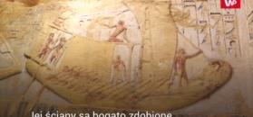 Odkrycie w Egipcie. Krypta nietknięta przez tysiące lat
