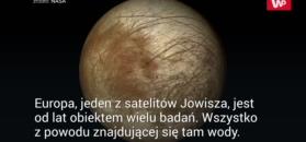 Kosmiczny kret na księżycu Jowisza