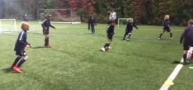 #dziejesiewsporcie: Imponująca technika młodych piłkarzy Barcelony. Wśród nich jest Polak