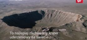 Niesamowity krater Barringera