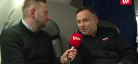Andrzej Duda dla WP: Tusk nie ma szacunku do Polski