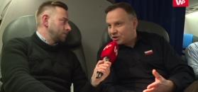 Andrzej Duda dla WP: Trybunał się rozpycha, to dzwonek alarmowy