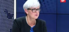 Joanna Kluzik-Rostkowska mówi, jak mogła wyglądać rozmowa Kaczyński-Pawłowicz