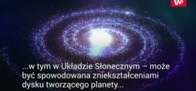 Dziwna deformacja w kosmosie