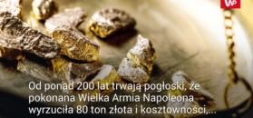 Zaginione złoto Napoleona. Rosjanin twierdzi, że zna jego lokalizację