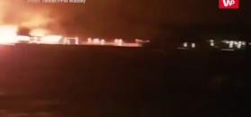 Pożar kurortu na Malediwach