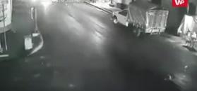Wylał olej na drogę. Konsekwencje nadeszły natychmiast