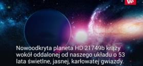 Dziwny obiekt tuż za Układem Słonecznym. Nadano mu nazwę HD 21749b