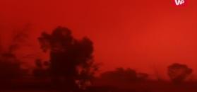 Czerwone niebo nad Australią