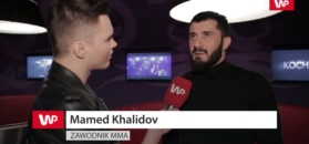 Khalidov tłumaczy koniec kariery