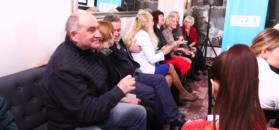 Manowska tańczy z emerytami w ramach promocji