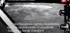 12 minut nagrania nieznanej strony Księżyca
