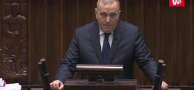 Sejm. Minuta ciszy i przemówienie Grzegorza Schetyny
