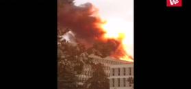 Wybuch gazu w Lyonie. Nagrania świadków