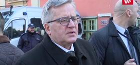 """Bronisław Komorowski: """"Dobre życie i dobra służba Polsce nie będą zapomniane"""""""