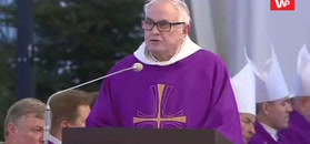 """Mocne słowa dominikanina na pogrzebie Adamowicza: """"Trucizna nienawiści"""""""