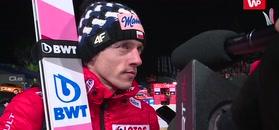 Dawid Kubacki skomentował nieudany konkurs.