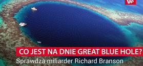 Co jest na dnie Great Blue Hole?