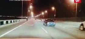 Tragiczne wyprzedzanie na moście w George Town. Nagranie świadka